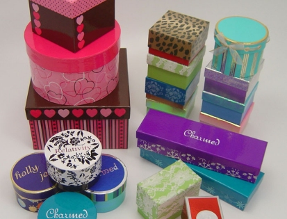Holiday Decorative Custom Paper Boxes
